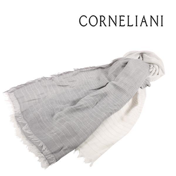 CORNELIANI コルネリアーニ ストール メンズ ホワイト 白 並行輸入品 メンズファッション 男性用 ビジネス 日本未入荷 ラッピング無料 送料無料