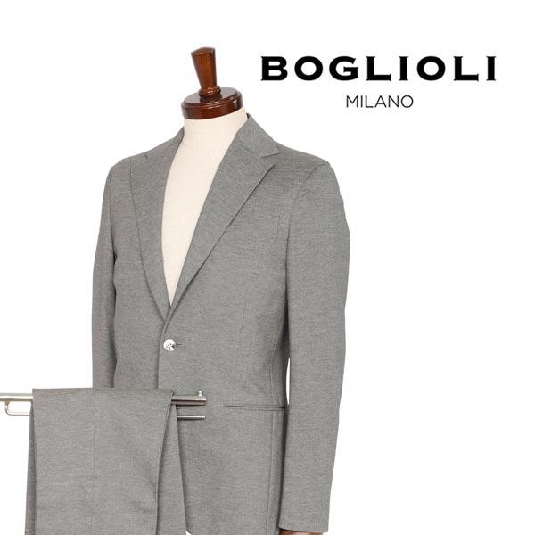 【44】 BOGLIOLI ボリオリ スーツ X21W2E メンズ グレー 灰色 並行輸入品 メンズファッション 男性用 ビジネス 日本未入荷 ラッピング無料 送料無料