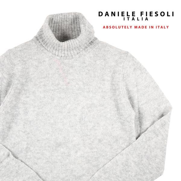 DANIELE FIESOLI タートルネックセーター DF9206 gray S 13927G【W13927】 ダニエレフィエゾーリ