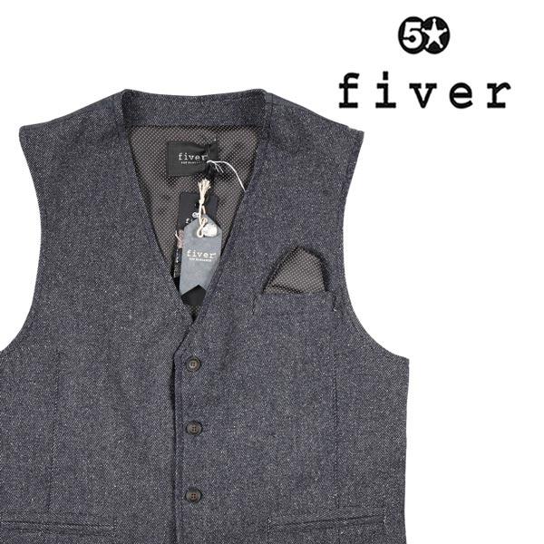 【M】 fiver ファイバー ジレ メンズ ネイビー 紺 並行輸入品 メンズファッション 男性用 ビジネス ベスト 日本未入荷 ラッピング無料 送料無料