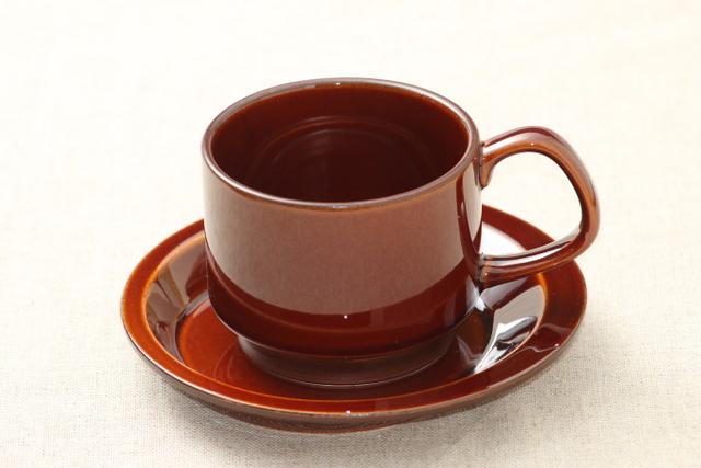 アメ色 コーヒーカップ ソーサー スタッキング 日本製 ほっこり 売れ筋 おうちカフェ ナチュラル 有名な おしゃれ
