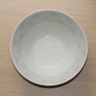 エンボス調がおしゃれ 撥水絵付けの白い器 パール 麺鉢 7.0鉢 大鉢 ラーメン鉢 ホワイト 和食器 正規認証品!新規格 カネ定 在庫一掃 どんぶり 丼 日本製