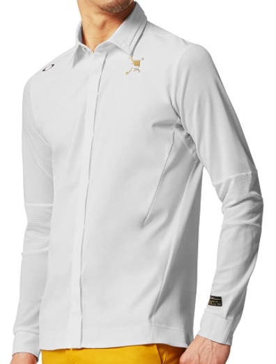 保障 即納 送料無料 オークリー メンズ長袖シャツ ポロシャツ ゴルフ シルバーグレースカル 即納最大半額 ゴルフウェアOAKLEY 433609JPMサイズ 1642