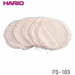 ネルフィルターのお取替えパーツ HARIO ハリオ 5枚入 国内送料無料 サイフォン用ろか布 毎日激安特売で 営業中です FS-103