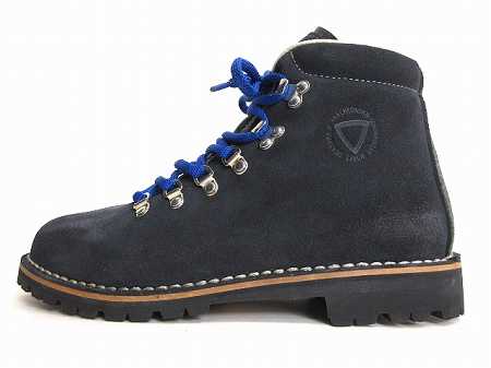 アスプロモンテ ASPROMONTE マウンテン ブーツ Mariel Mountain Boots スエード 41 26.5 ネイビー 秋冬 メンズ 【中古】【ベクトル 古着】 180910 ブランド古着ベクトルプレミアム店