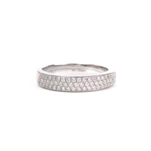 サルトロ SARTORO K18 リング 0.41ct ダイヤ 指輪 8.5号 ホワイトゴールド アクセサリー レディース 【中古】【ベクトル 古着】 170428 ブランド古着ベクトルプレミアム店