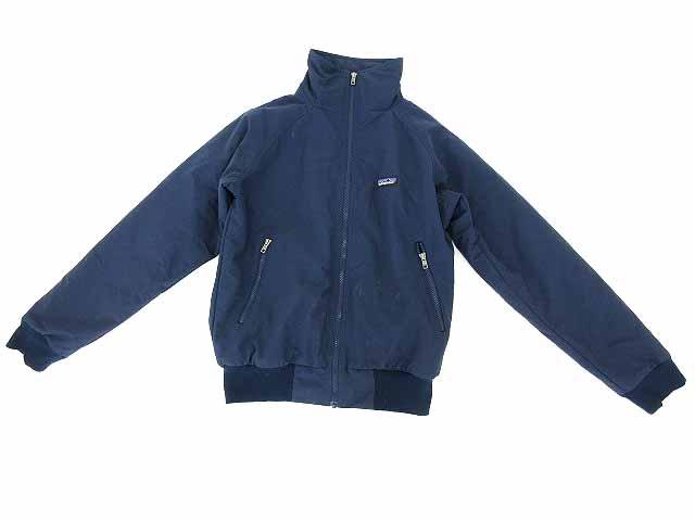 パタゴニア Patagonia ジャケット ブルゾン ナイロン ジップアップ ロゴ XS 紺 メンズ 【中古】【ベクトル 古着】 180502 ブランド古着ベクトルプレミアム店