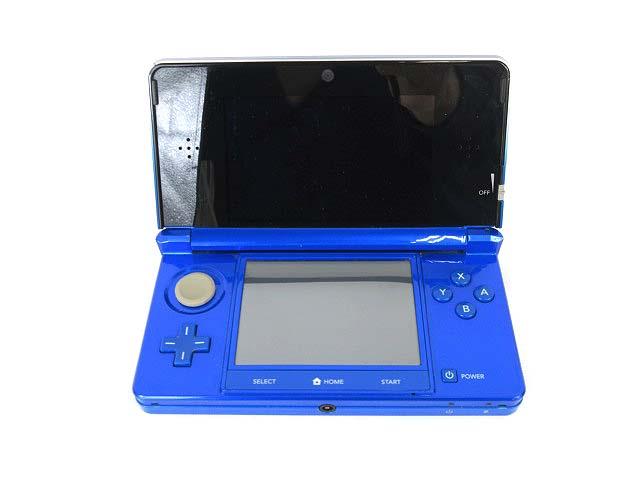 任天堂 NINTENDO 3DS コバルトブルー CTR-001 0503 【中古】【ベクトル 古着】 180503 ベクトルプラス市場店