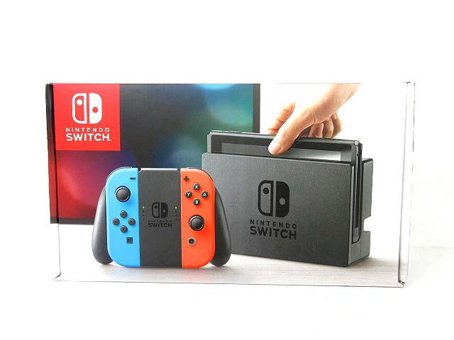 未使用品 ニンテンドー Nintendo Switch スイッチ 本体 ネオンブルー ネオンレッド 1115 【中古】【ベクトル 古着】 181115 ベクトルプラス市場店