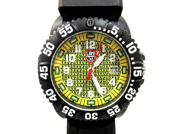 メンズ ブラック ルミノックス 男性用 LUMINOX 【欠品有り】 3900 【中古】 腕時計 ネイビーシールズ