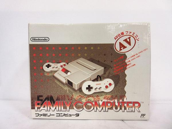 任天堂 ニンテンドー Nintendo ニューファミコン FC AV仕様 【中古】【ベクトル 古着】 180929 ベクトルプラス市場店