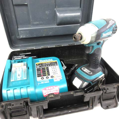 マキタ makita 充電式 インパクトドライバー 充電器 18V TD145D ※MH180528 【中古】【ベクトル 古着】 180528 ベクトルプラス市場店