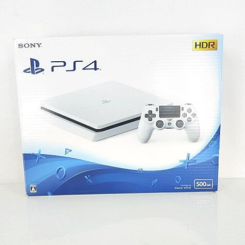 SONY PlayStation4 PS4 本体 500GB CUH-2100AB02 グレイシャーホワイト 白 ■O-181010 【中古】【ベクトル 古着】 181011 ベクトルプラス市場店