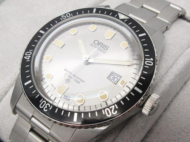 【中古】 オリス ORIS ダイバーズ65 Divers65 733 7720 4051 M 腕時計 オートマティック 銀 シルバー 0330 【ベクトル 古着】 190330