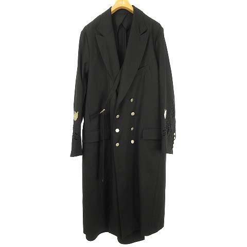 【中古】 ベッドフォード BED J.W. FORD 19SS-B-CT02 Horse coat チェスター コート ブラック メンズ 【ベクトル 古着】 190513