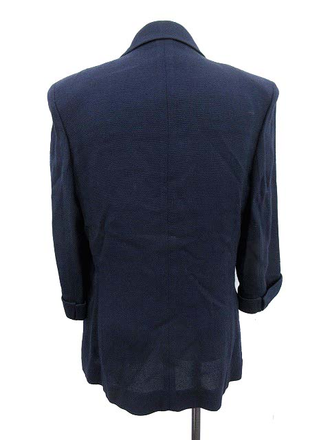 e7051271d3aa ルネ Rene TISSUE スーツ セットアップ 上下 ジャケット スカート 11 ネイビー /KH レディース 【中古】【ベクトル 古着】  180320 ブランド古着ベクトルプレミアム店