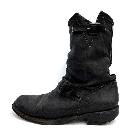 バックラッシュ BACKLASH ブーツ エンジニア レザー 黒 /YM ●D メンズ 【中古】【ベクトル 古着】 190218 ブランド古着ベクトルプレミアム店