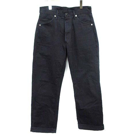 TUKI パンツ DUCK TAIL PANTS 3 紺 ネイビー 0068 /☆G メンズ 【中古】【ベクトル 古着】 190312 ブランド古着ベクトルプレミアム店