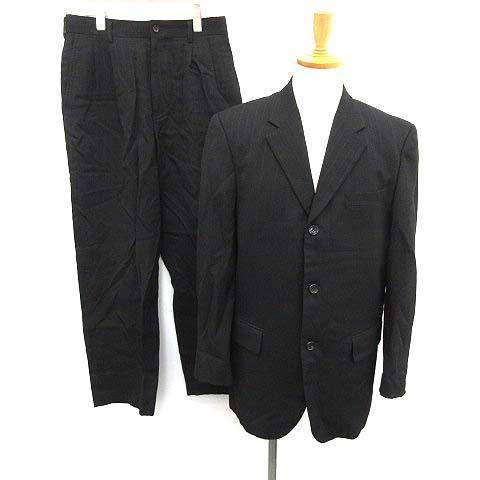 【中古】コムデギャルソンオム COMME des GARCONS HOMME スーツ セットアップ 上下 ジャケット パンツ M 黒 ブラック /KH メンズ 【ベクトル 古着】 200306 ベクトルプレミアム店