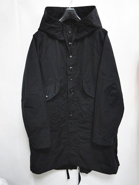 エンジニアードガーメンツ Engineered Garments 16AW Highland Parka ハイランドパーカー モッズコート M-51 ジャケット フーディー ネペンテス 黒 ブラック M 0406 メンズ 【中古】【ベクトル 古着】 180406 ブランド古着ベクトルプレミアム店