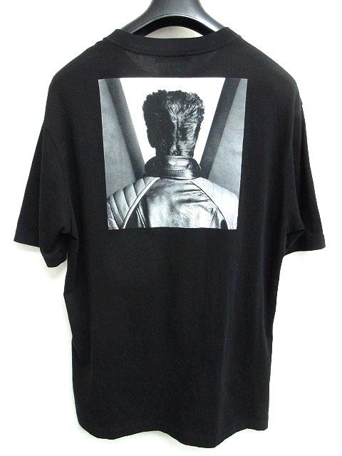 ラフシモンズ RAF SIMONS 17SS Robert Mapplethorpe Tシャツ SELF PORTRAIT T-SHIRT 半袖 メイプルソープ バックプリント クルーネック ブラック 黒 0729 メンズ 【中古】【ベクトル 古着】 180729 ブランド古着ベクトルプレミアム店