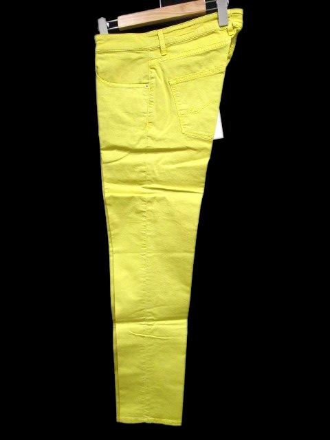 未使用品 ピーティーゼロチンクエ PT05 チノパン コットンパンツ 黄色 イエロー 33 KGS メンズ 【中古】【ベクトル 古着】 171227 ブランド古着ベクトルプレミアム店