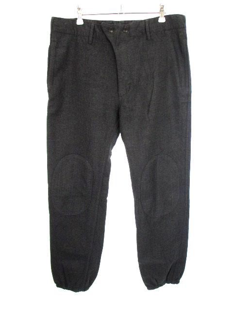 エンジニアードガーメンツ Engineered Garments E-1 Pant パンツ シンチバック ニーパッチ ウール グレー M メンズ 【中古】【ベクトル 古着】 181001 ブランド古着ベクトルプレミアム店
