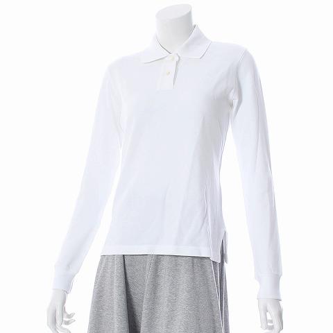 ルシアンペラフィネ LUCIEN PELLAT-FINET ポロシャツ 長袖 XS 白 レディース 【ベクトル 古着】【中古】