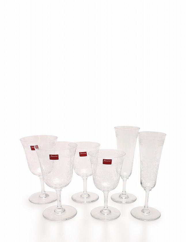 バカラ Baccarat ワイングラス 6点セット クリア 小物 食器 クリスタルガラス 箱付き メンズ レディース 【中古】【ベクトル 古着】 ブランド古着ベクトルプレミアム店
