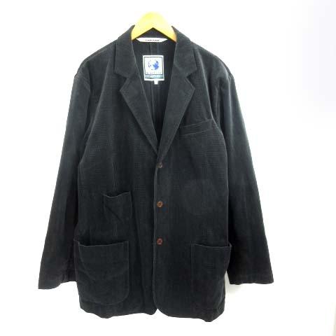 【中古】 ナイジェルケーボン NIGEL CABOURN テーラードジャケット 黒 ブラック 6 メンズ 【ベクトル 古着】 190405