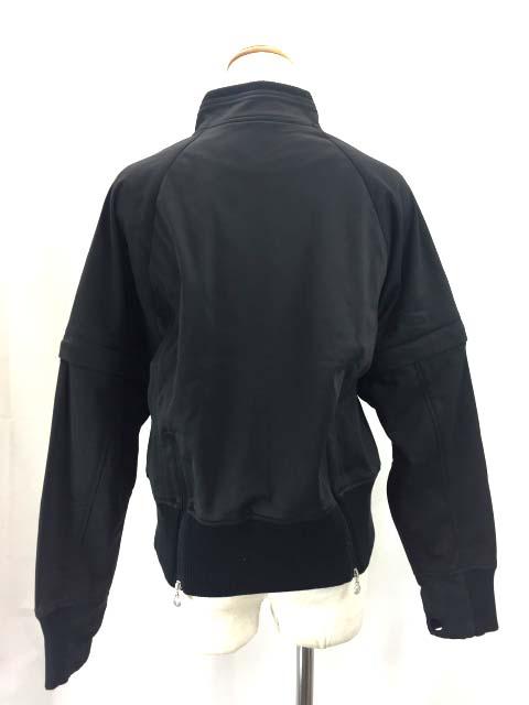黒 ブラック 190807 パンツ ジャケット 42 TRUSSARDI GOLF レディース 【ベクトル 古着】 セットアップ 【中古】 ベクトルプレミアム店 トラサルディ ジャージ SSS4