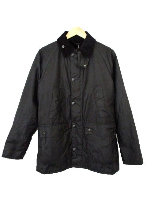 未使用品 バブアー Barbour sl Bedale Pile Lining MWX1017 ジャケット コート ビデイル オイルド 36 黒 メンズ 【中古】【ベクトル 古着】 180220 ブランド古着ベクトルプレミアム店
