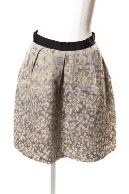 『1年保証』 中古 イエナ スローブ IENA SLOBE ジャガード タック 古着 190410 レディース yo0410 2020新作 スカート ベクトル