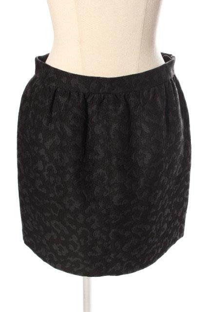 2020新作 中古 プラージュ Plage ジャガード ミニ スカート メーカー在庫限り品 190417 ベクトル レディース ahm0417 古着