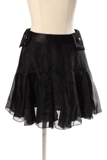 中古 トーキョードレス TOKYO DRESS シルク混 フレア 古着 スカート 注目ブランド ベクトル kk0423 新品■送料無料■ 190423 レディース