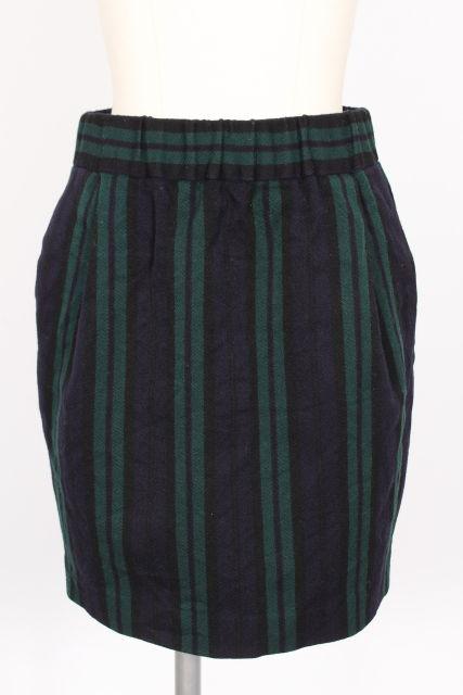 中古 イエナ 毎週更新 IENA ストライプ イージー スカート ベクトル 190508 半額 レディース 古着 ahm0508