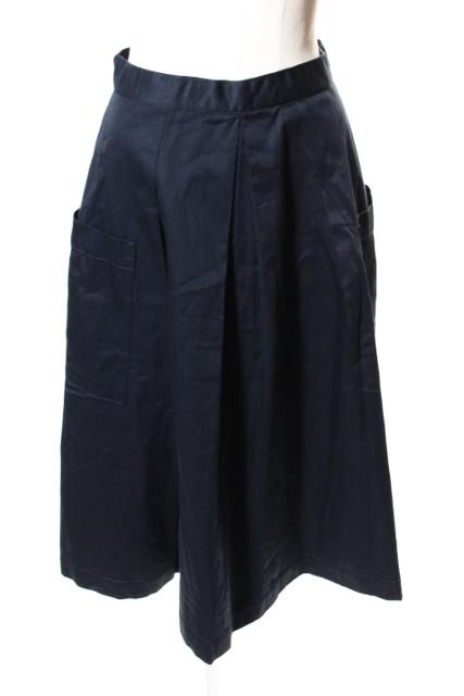 新作続 中古 ユニバーバル ミューズ 供え UNIVERVAL MUSE 16AW コットン スカート 古着 190510 sa0510 レディース ベクトル フレア