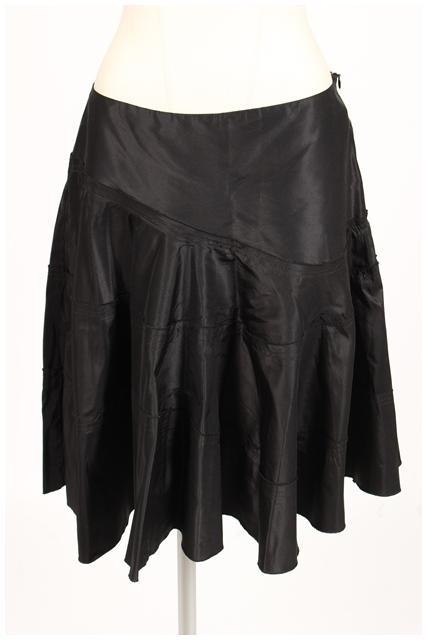 中古 限定タイムセール マウリッツィオペコラーロ いよいよ人気ブランド MAURIZIO PECORARO ギャザー スカート mm0514 ベクトル レディース 190514 古着