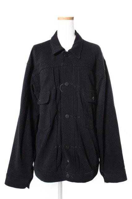 【中古】 ラングラー WRANGLER エイトン ATON 18SS ジャケット ワーク コットン M 黒 ブラック ahm0515 メンズ 【ベクトル 古着】 190516