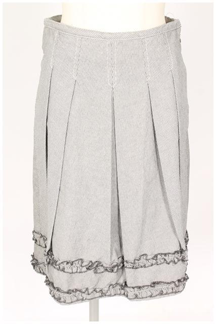 中古 マックスマーラ ウィークエンドライン MAX MARA WEEKEND LINE フリル ベクトル 190528 スカート 上等 sa0528 レディース お値打ち価格で 装飾 古着