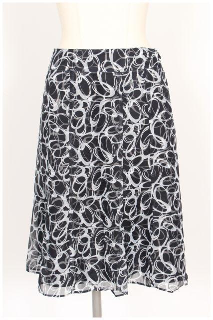 中古 アリスバーリー Aylesbury 数量は多 総柄 シフォン フレア fy0527 価格 レディース 古着 スカート 190527 ベクトル
