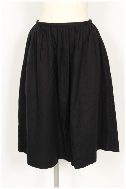中古 ティアラ Tiara コットン ギャザー フレア スカート 市場 ベクトル 人気ブレゼント 古着 190528 レディース km0528