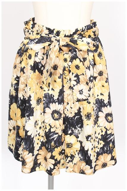 中古 ティアラ Tiara 花柄 激安卸販売新品 スカート レディース おすすめ kf0530 古着 ベクトル 190530