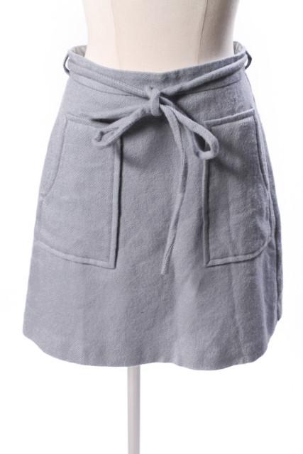 中古 リランドチュール Rirandture 16AW ベルト付き スカート 190408 古着 レディース 営業 ベクトル オンライン限定商品 hn0408