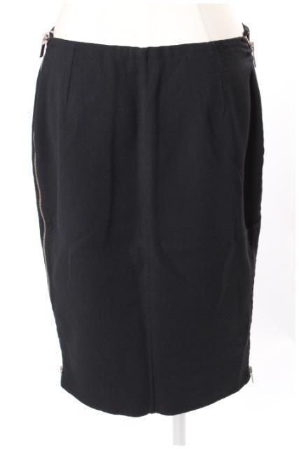 中古 マイケルコース MICHAEL KORS ブランド品 誕生日/お祝い サイドジップ ストレッチ スカート 古着 tk0412 レディース ベクトル 190412
