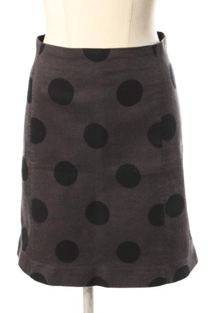 返品送料無料 中古 イエナ IENA JULIE 発売モデル COGAM 15AW ドット柄 スカート 190411 古着 aan0411 レディース ベクトル