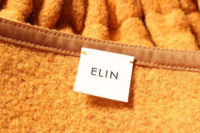 エリン ELIN Cable cropped セーターニット 長袖 ウール 38 黄 イエローo0416 レディースベクトル 古着1904160wP8kXnO