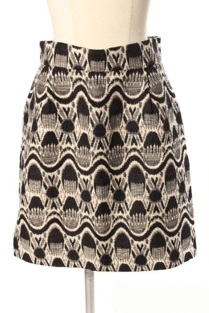 中古 マルティニーク martinique 総柄 35%OFF 刺繍 スカート (訳ありセール 格安) レディース ベクトル 古着 190420 ms0416