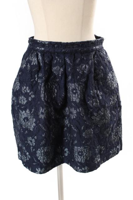 中古 新作通販 ジルスチュアート JILL STUART アレンフラワー スカート 迅速な対応で商品をお届け致します ベクトル レディース 古着 nn0426 190426
