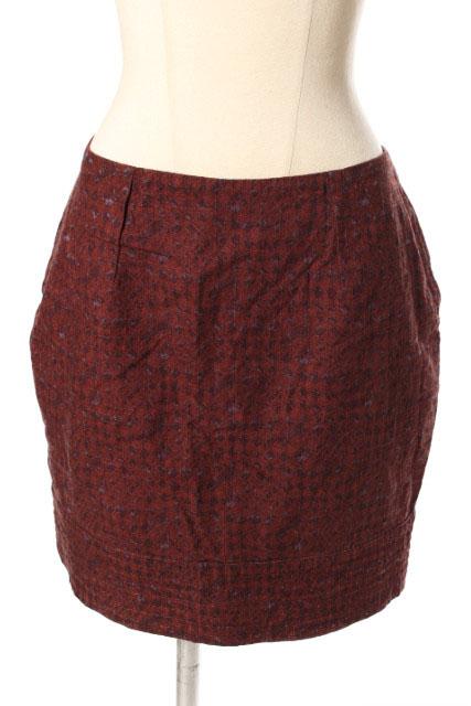 割り引き 中古 マザー mother 特価キャンペーン 総柄 スカート ahm0514 190612 レディース 古着 ベクトル